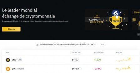 Plateforme trading crypto decentraliser