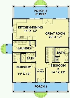 Plan 2568dh Small Plan Big Heart House Plans Small