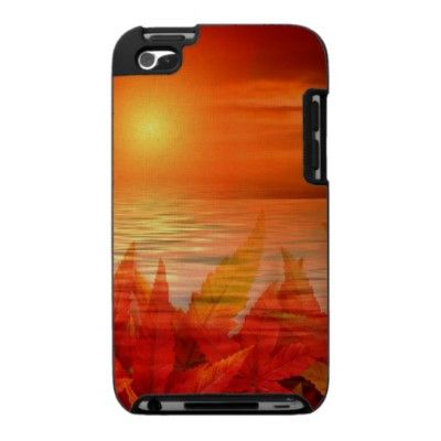 Autumn at Sunset iPod Touch 4g Cases