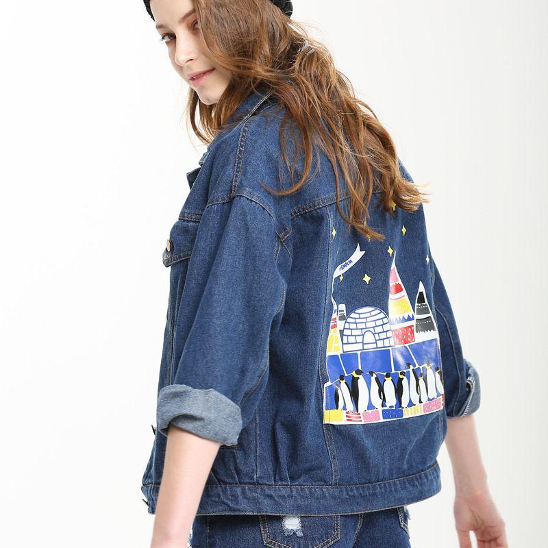 Image Result For Womens Denim Jacket Embroidered Denim Pinterest