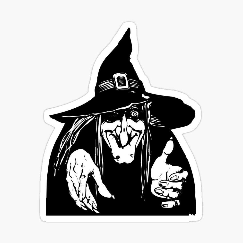 Halloween 2020 Happy Halloween Sticker By Nannadesign Halloween Pictures To Draw Witch Clipart Witch Drawing