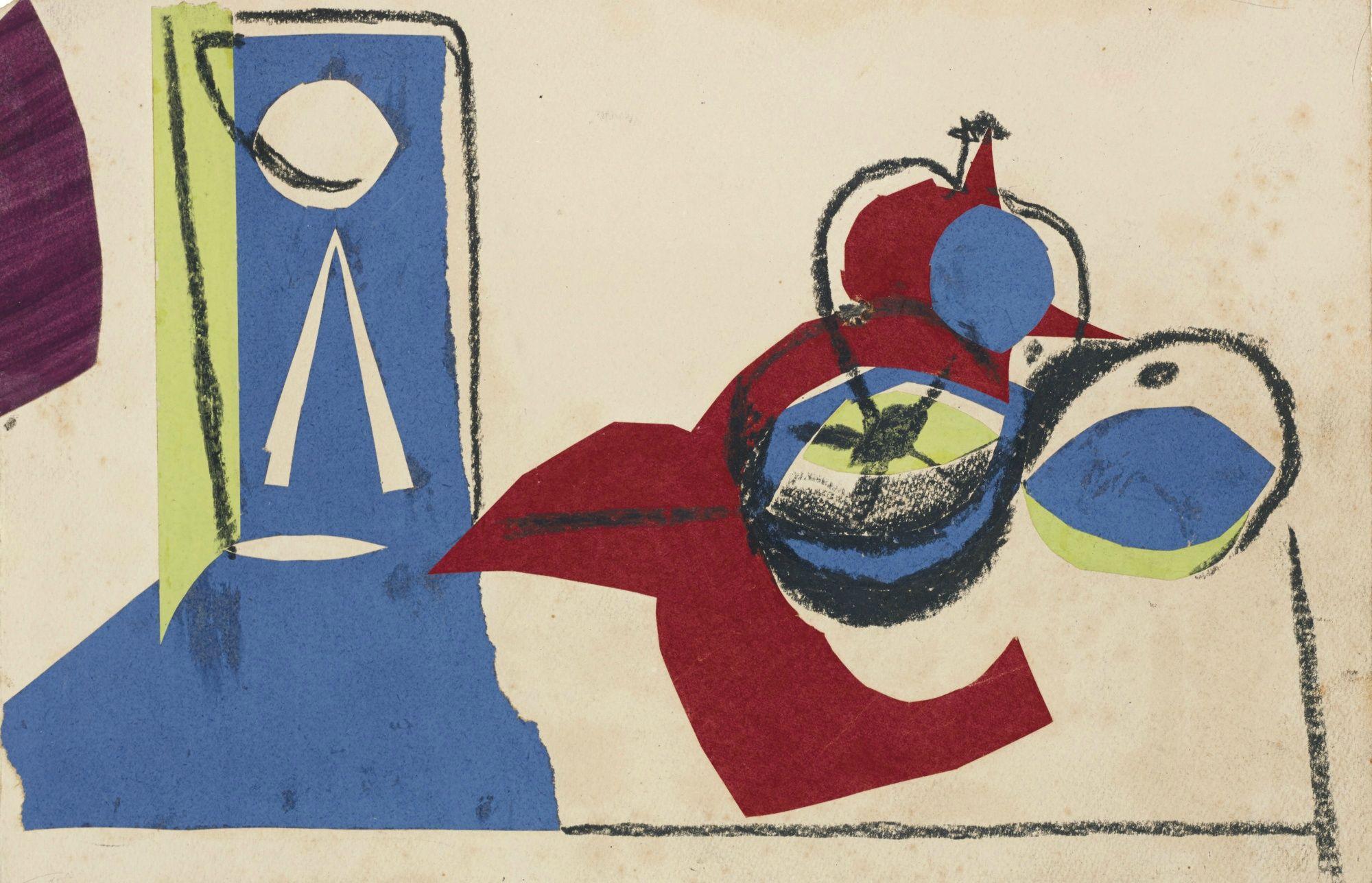 Pablo Picasso - Nature morte aux fruits, dated Dimanche 18 novembre ...