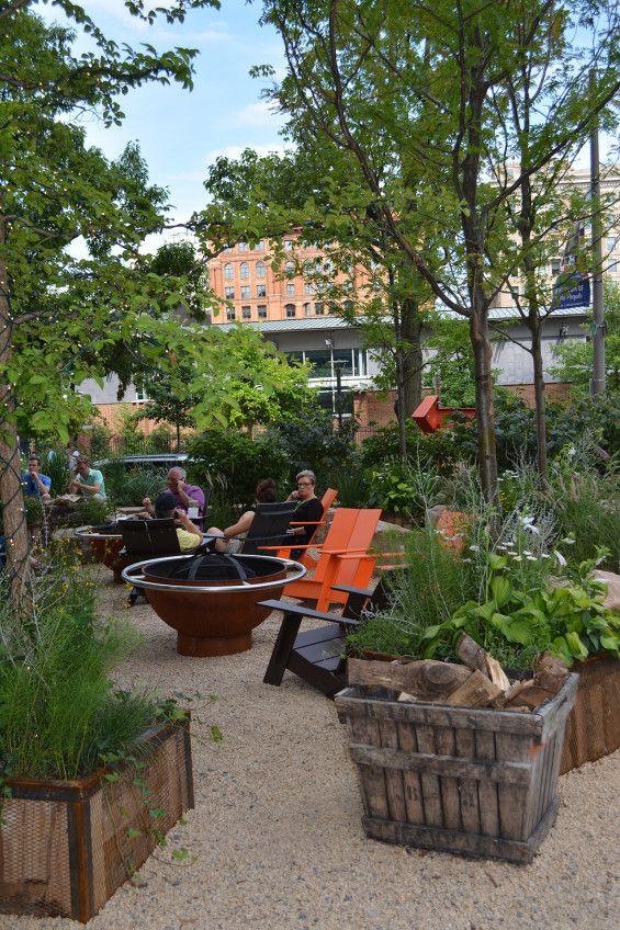 Independence Beer Garden   Beer garden, Garden landscape design and ...