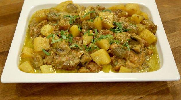 Arda n n mutfa kremal mantarl tavuk tarifi for Arda turkish cuisine