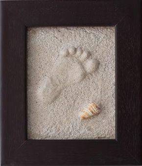 como hacer huellas en la arena y mantenerlas