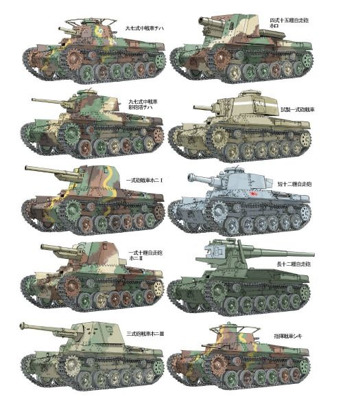Gruene Teufel Japanese Armored Fighting Vehicles Of Wwii