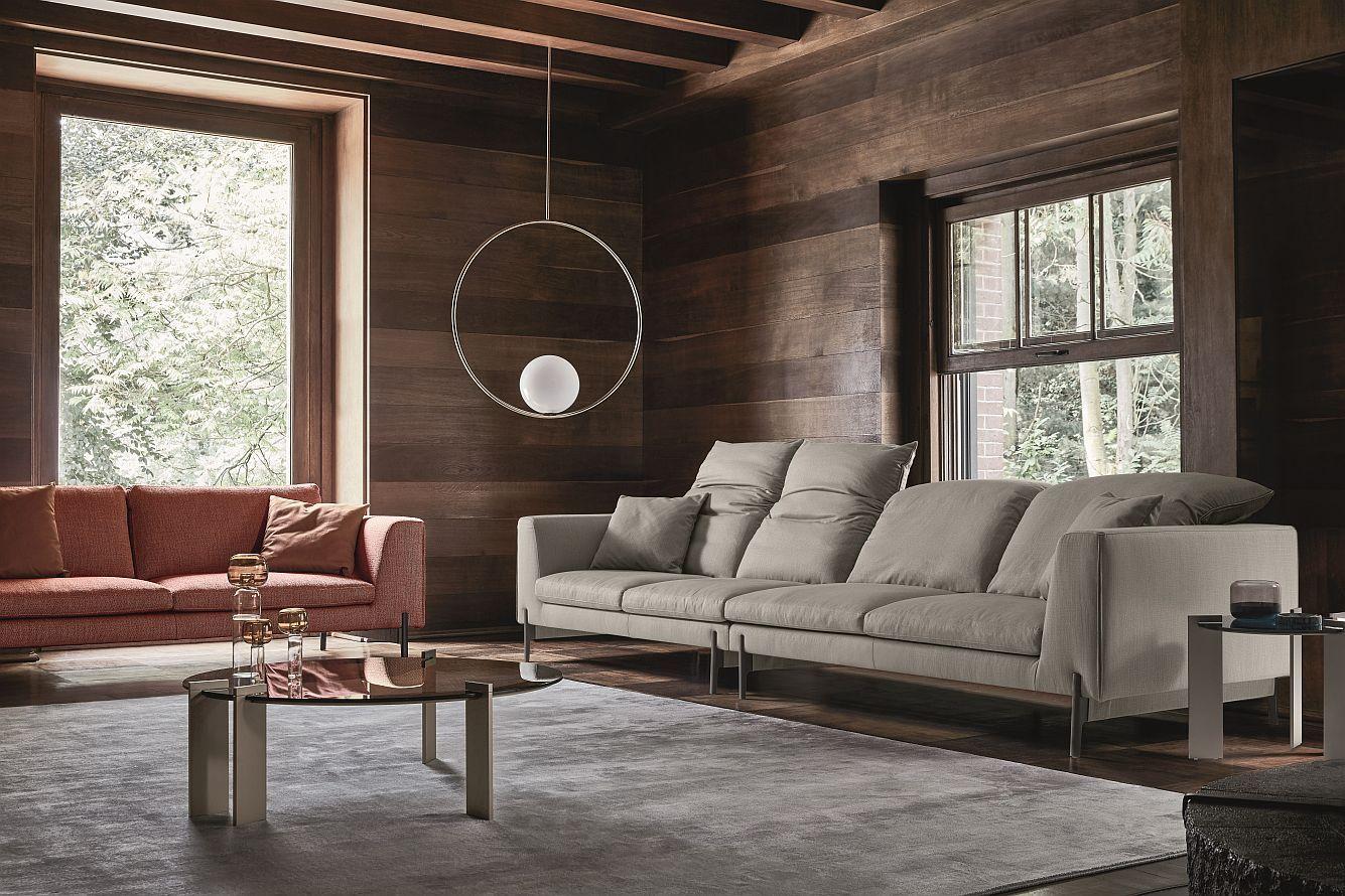 Kim High Ditre Italia In 2020 Italian Leather Sofa Sectional Sofa Types Of Sofas