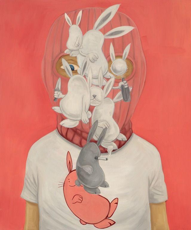 """Saatchi Online Artist: Andrew Pommier; Oil, Painting """"The Warren"""""""