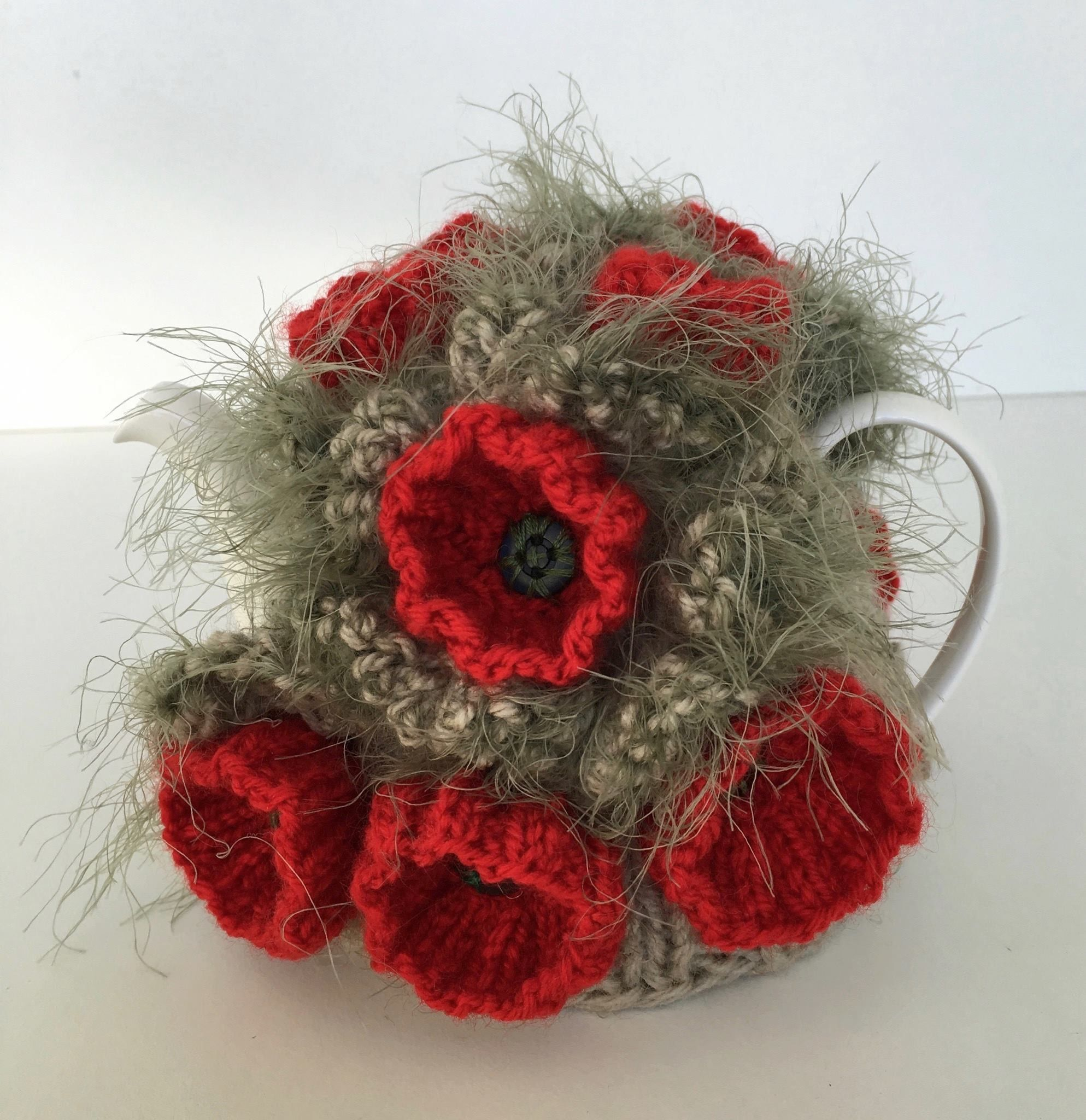 Knitted Tea Cosy from the Marianne Collection.   Knitting patterns ...