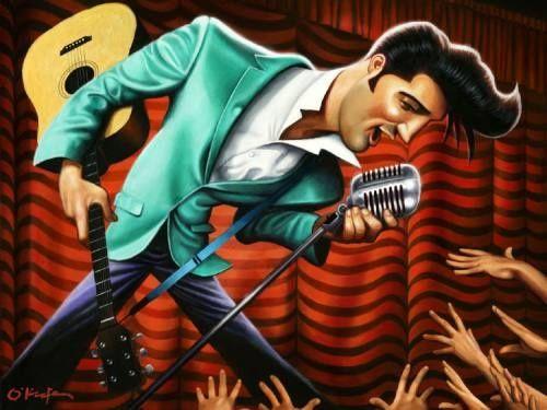 Elvis (by David O'keefe )