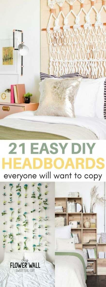 32 Trendy diy headboard easy cheap dorm room images