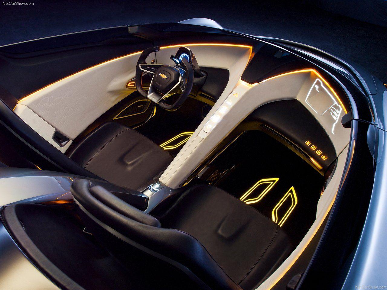 Chevrolet Miray Concept 2011 Car Interior Design Sketch