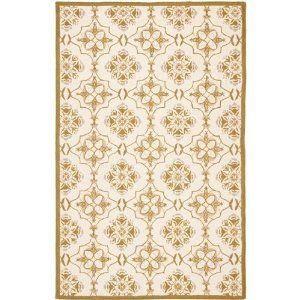 Safavieh Chelsea Hand-hooked HK376A Ivory (6' x 9') Wool Area Rug