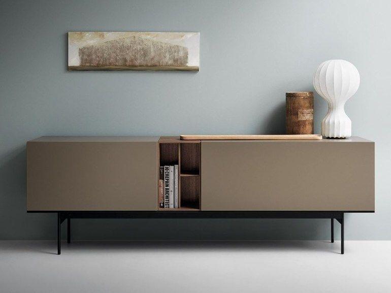 Sideboard Design aparador modular lacado de madera brick by caccaro deco