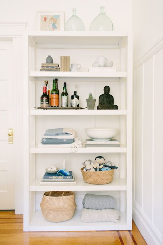 Using Bookshelves To Create A Kid Friendly Space