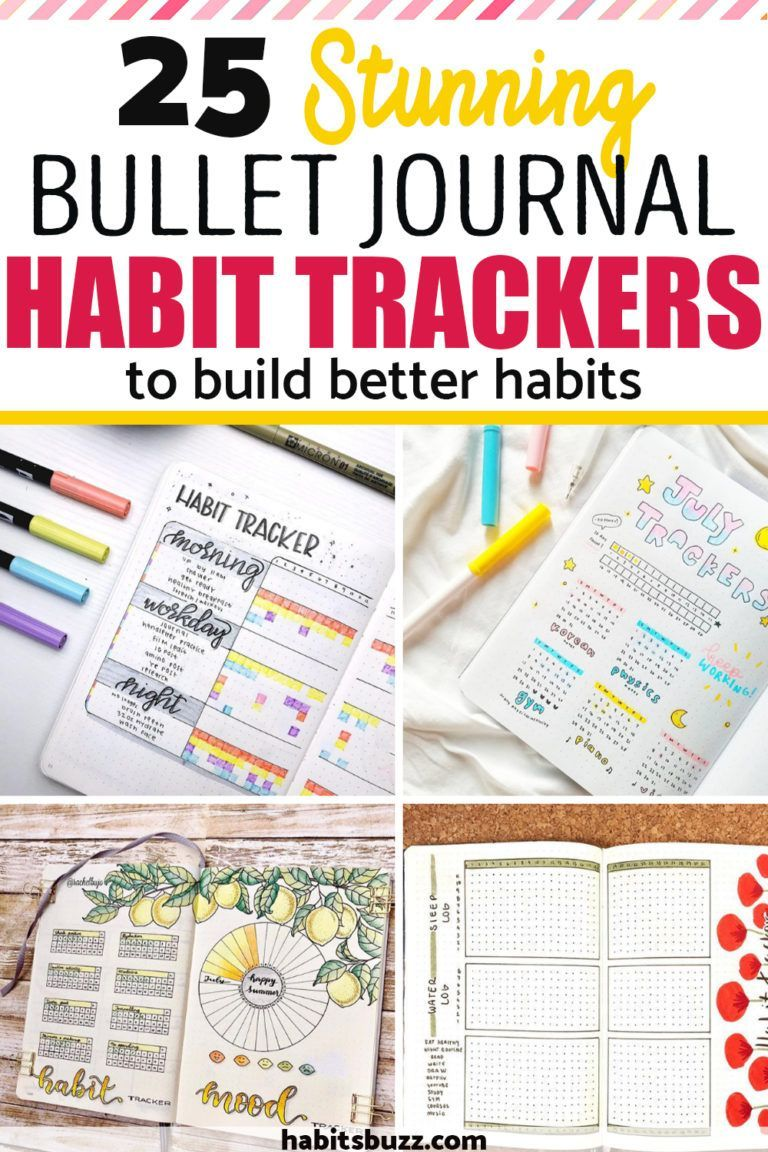 Creating Trackers In A Bullet Journal Is An Excellent Way To Keep Track Of Your Habit Tracker Bullet Journal Bullet Journal Habit Tracker Layout Bullet Journal How to create a tracker