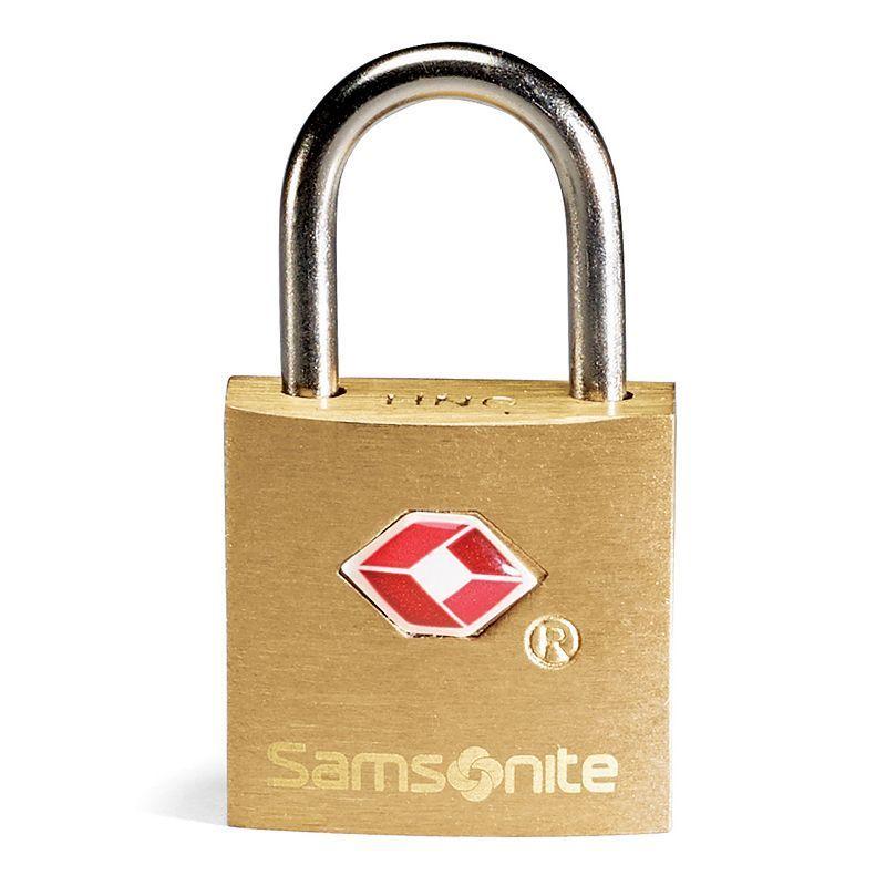 Samsonite Luggage Lock and Keys Set, Gold