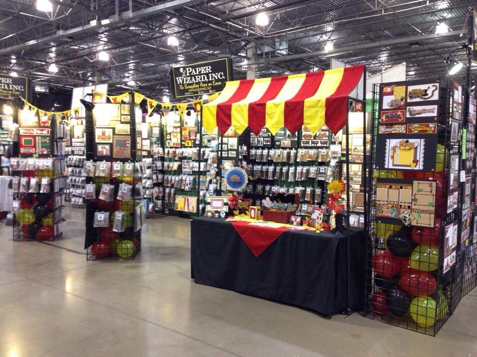 Paper Wizard booth. Great Lakes Mega Meet. Novi MI. May