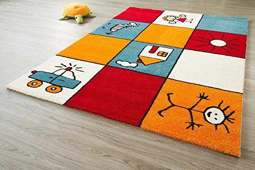 Kids Rug Little Carpet Children S Collection Colourful Erfly Design Size 120x170 Cm 4 X5 6