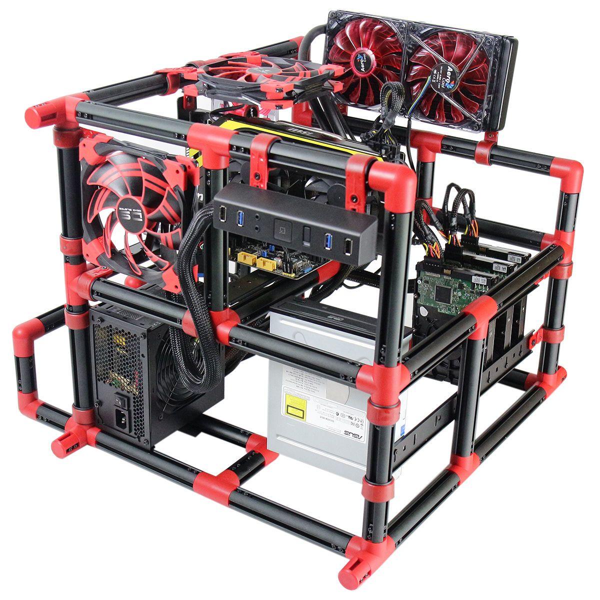 Aerocool Dream Box Creative Diy Pc Computer Case Building