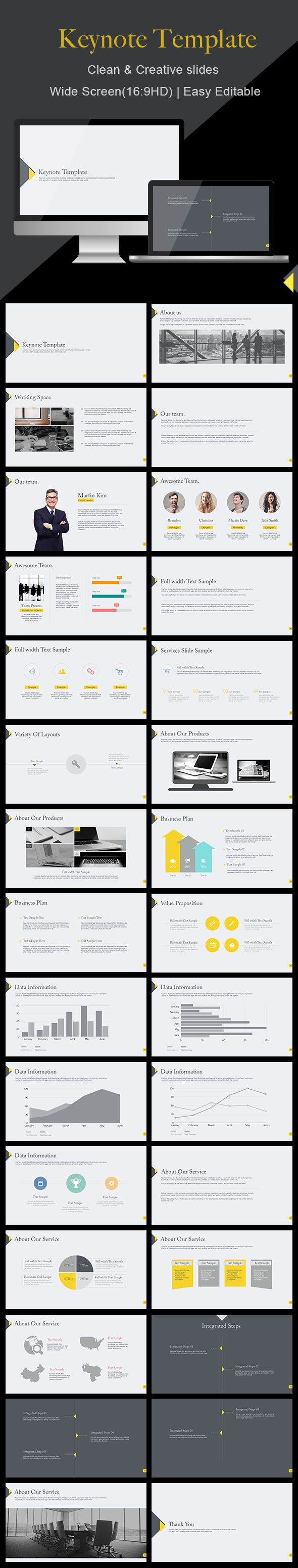 Clean  Keynote Template  Keynote Template And Ppt Design