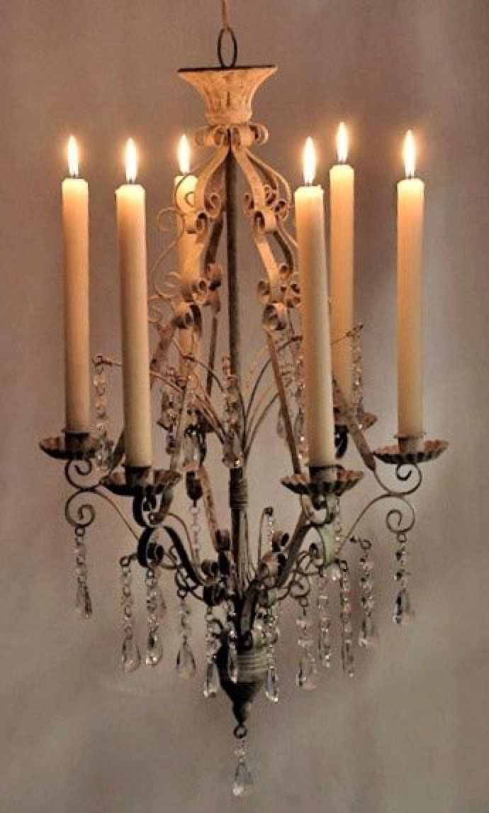 French Country Home Candelabros De Techo Decoracion Con Velas Lamparas De Techo