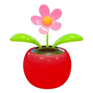 Solar Dancing Flower Red Valentine S Day Gift Idea From Www Officeplayground Com Use Code P10 At Chec With Images Solar Flower Flower Toy Perpetual Motion Toys