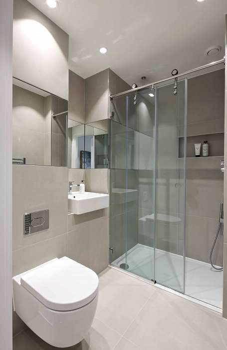 contemporary ensuite google search ensuite pinterest attic bathroom contemporary and attic. Black Bedroom Furniture Sets. Home Design Ideas