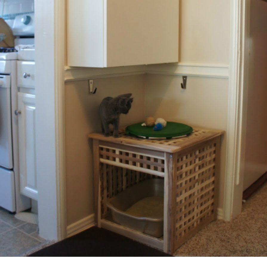Litter Box Furniture With Images Cat Litter Box Furniture