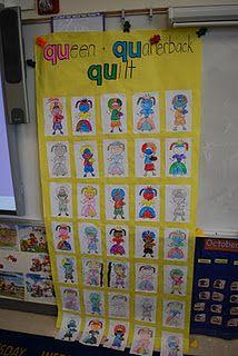 QU - queen and quarterback quilt