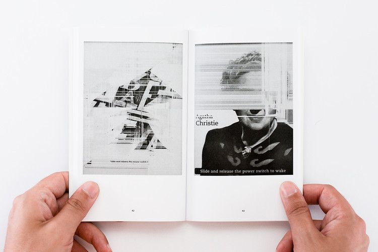 56 Broken Kindle Screens Make One Perfect Coffee Table Book