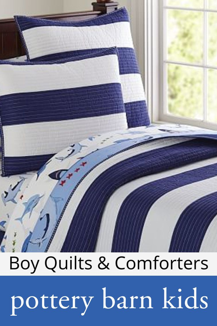 Boy Quilts Amp Comforters Striped Quilt Quilt Bedding