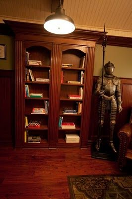 secret rooms are becoming a mainstay of steampunk design.