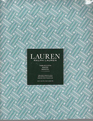 "Basketweave Turquoise Tablecloth Ralph Lauren 60"" x 102"" ... https://www.amazon.com/dp/B072HXD7HR/ref=cm_sw_r_pi_dp_x_I-IfzbQZBBKR3"