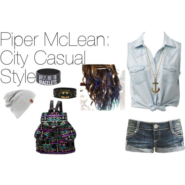 Piper McLean: City Casual Style