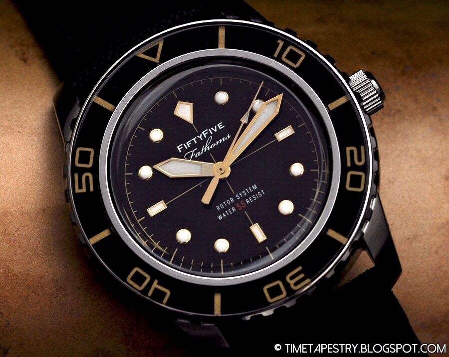 Seiko Snzh57 Fifty Five Mod Homage Blancpain Watch Ya Wearing In