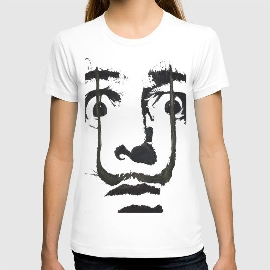 I+am+drugs+(+Salvador+Dali+)+T-shirt+by+Black+Neon+-+$22.00