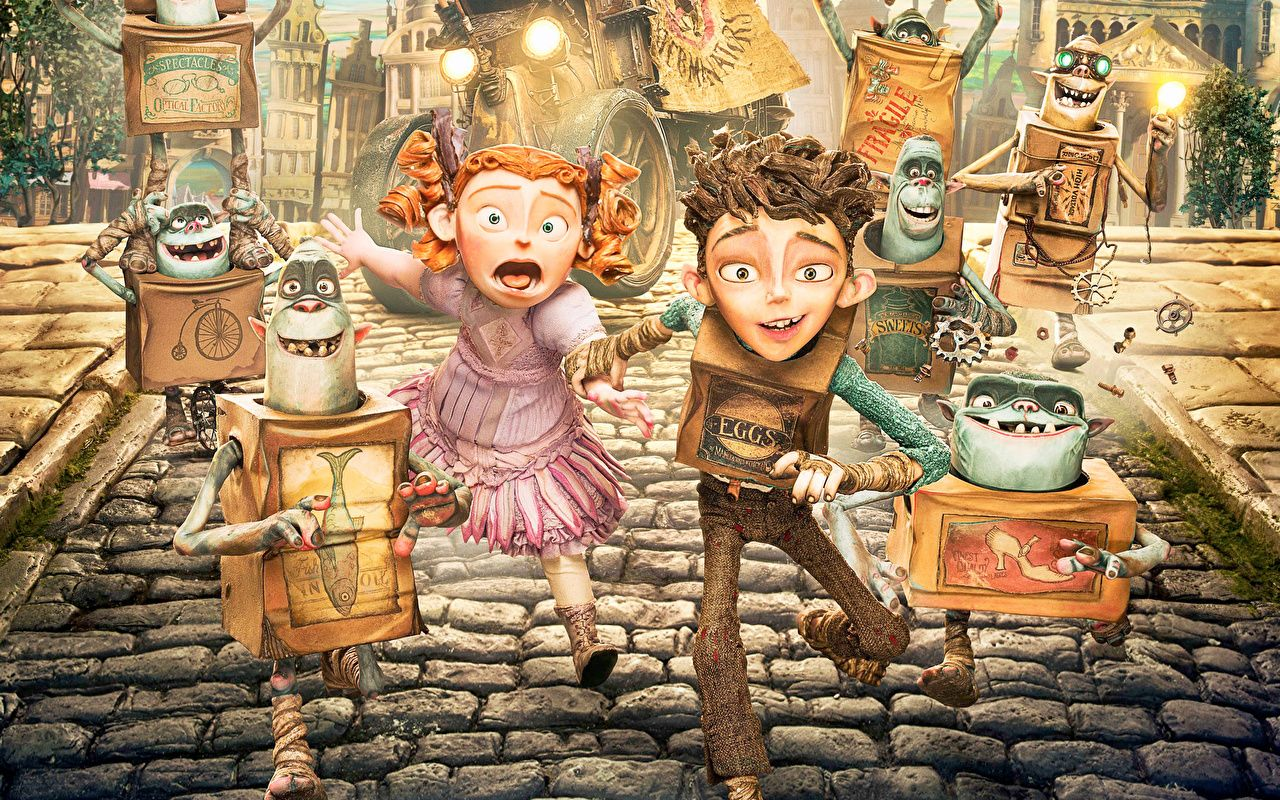 Wallpapers Little Girls Boys Monsters The Boxtrolls Children Fantasy Cartoons Online Coloring Wallpaper Backgrounds Go Wallpaper