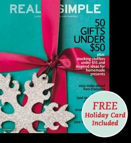 Real simple magazine christmas gift ideas