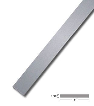 1 X 1 16 Aluminum Flat Bar Satin Anodized Finish With Tape 95 Long Anodized Vacuum Cup It Is Finished