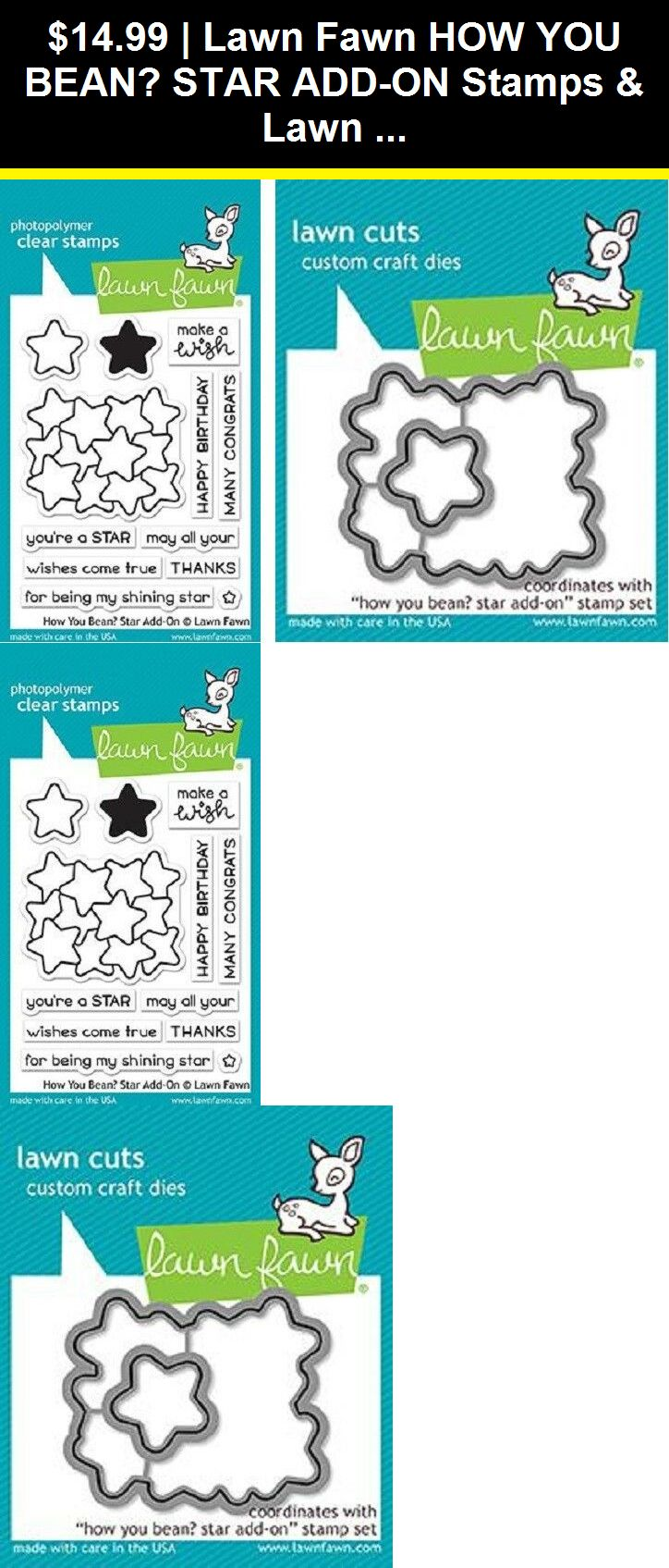 Stamping And Embossing 3122 Lawn Fawn How You Bean Star
