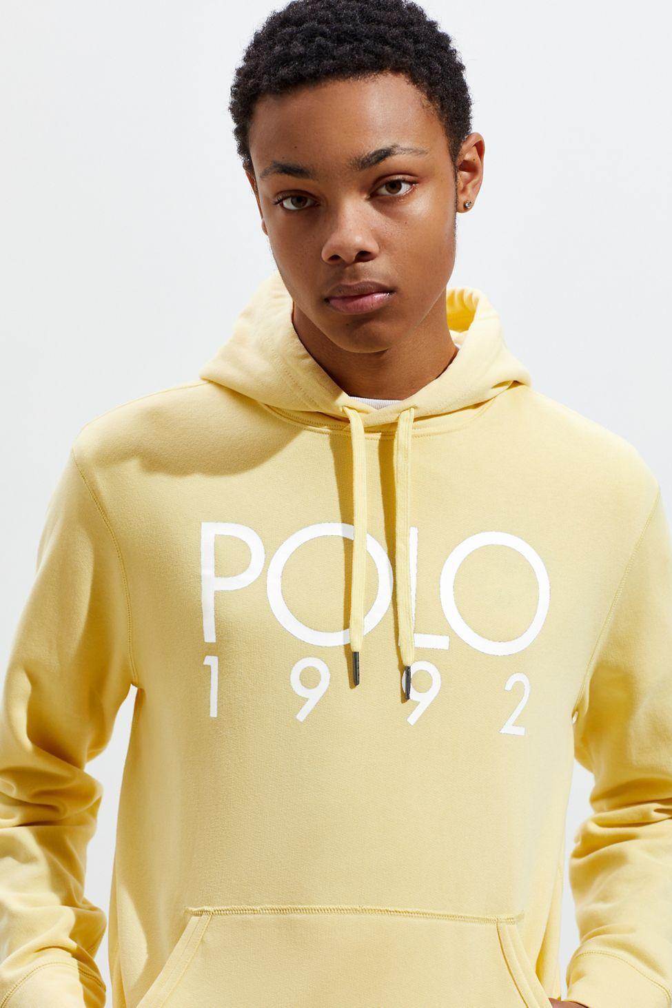 Polo Ralph Lauren 1992 Hoodie Sweatshirt