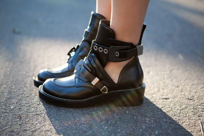 Cutout boots, Balenciaga boots