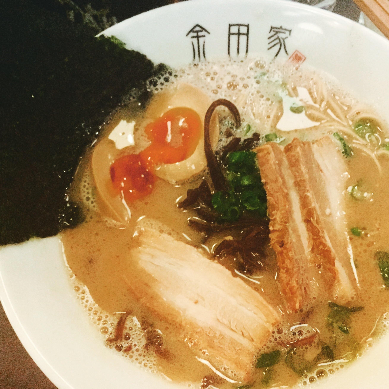 [I ate] Tonkotsu ramen recipes food cooking delicious