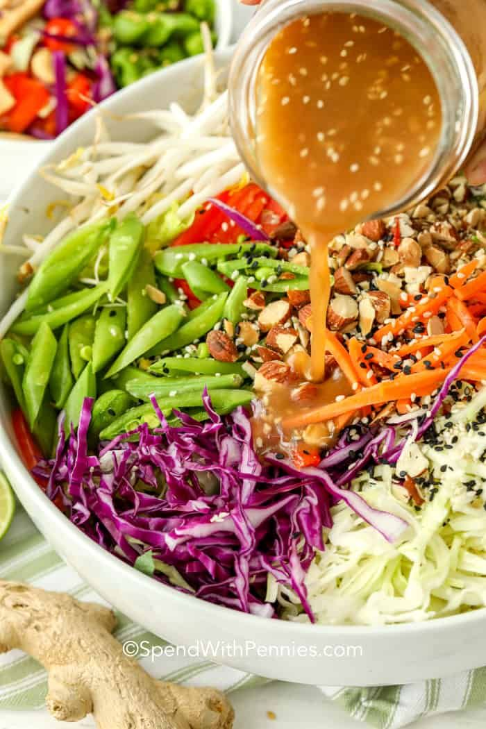 Photo of Asian Chopped Salad – Spend With Pennies