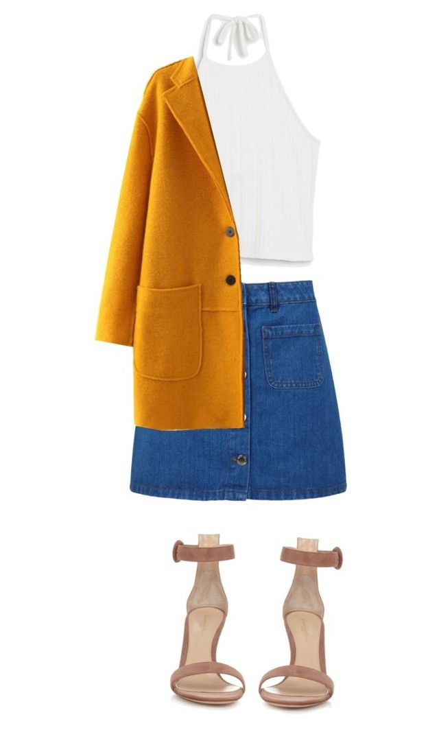 """""""Bangin'"""" by xoxotiffvni on Polyvore featuring Miss Selfridge, Monki, Gianvito Rossi and WithChic"""
