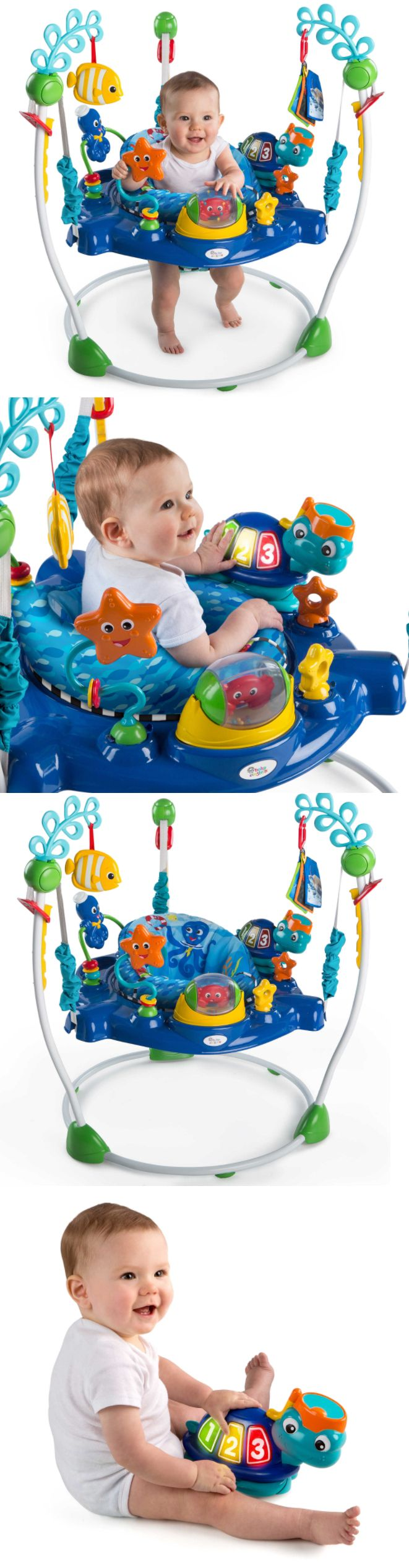 2bed5c9919da Baby Einstein Neptune Ocean Discovery Jumper Loops For More Toys ...