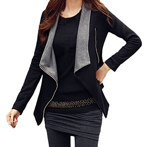 low priced 65234 31131 Giacca Donna Elegante Autunno Inverno Costume Bolero Manica ...