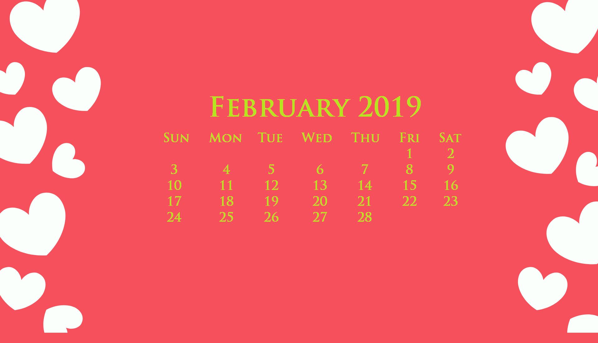 Desktop February 2019 Calendar Wallpaper February 2019february Februarycalendar2019 Desktopcaledar Desktop Calendar Calendar Wallpaper February Wallpaper