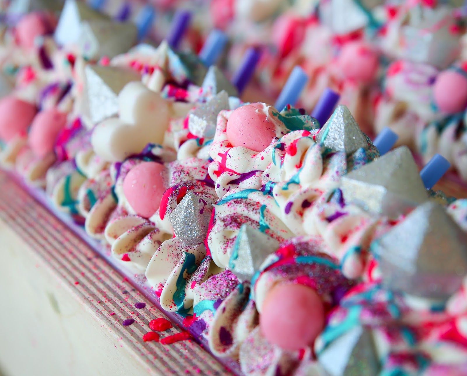 unicorn frappuccino inspired soap royalty soaps i love her rh pinterest com